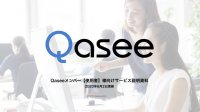 従業員の働き方、業務を可視化するソリューションQasee サービス説明資料