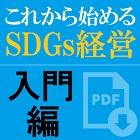 【お役立ち資料】これから始めるSDGs経営・入門編~今から始められるSDGs(持続可能な開発目標)への取り組み着眼点~