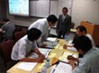企業の「要」を強化するための組織活性化研修