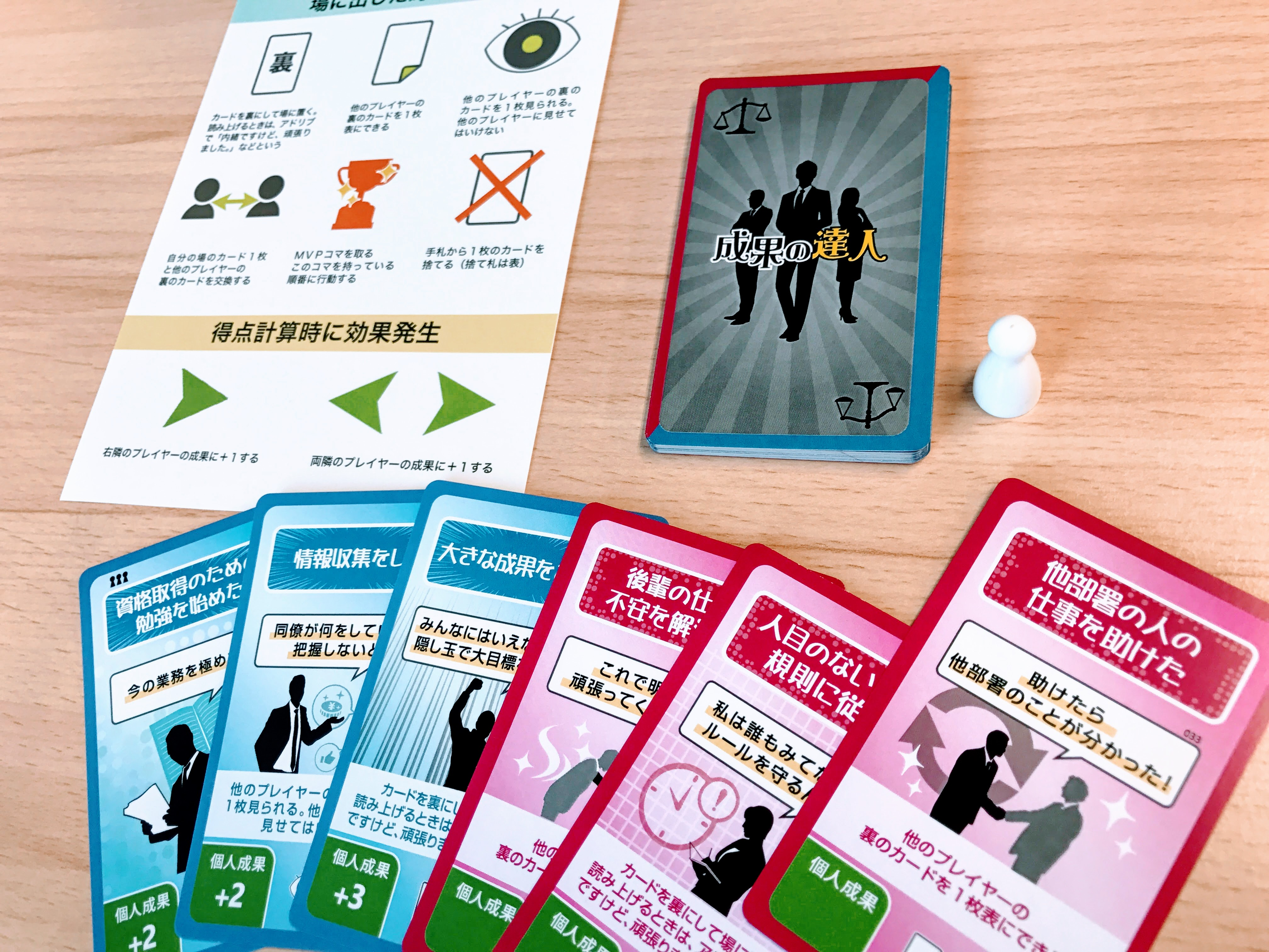 古き良き日本企業の強みを体験するビジネスゲーム「成果の達人」_画像