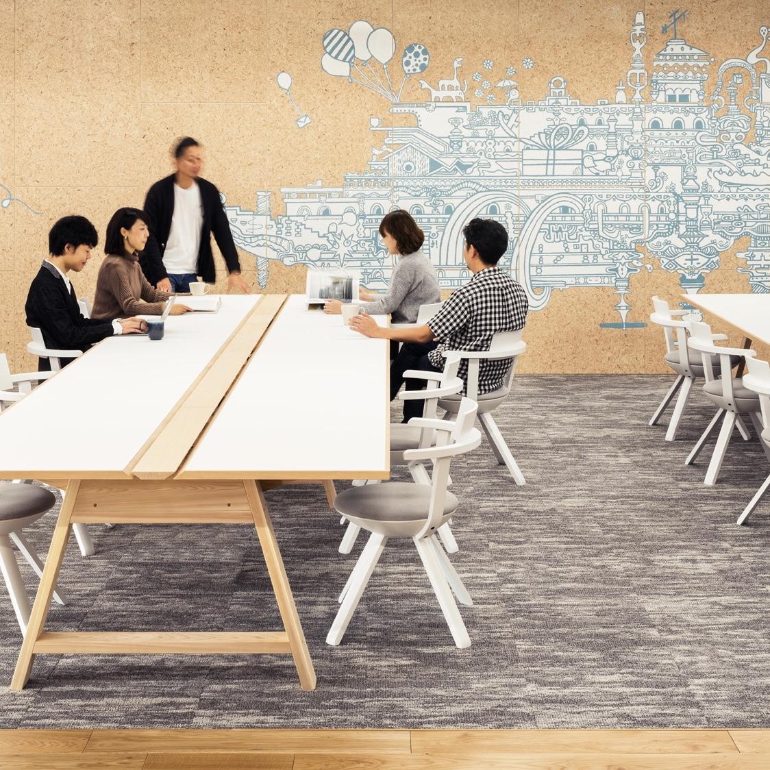未来のオフィスの新定番。WASABI ART&DESIGN_画像