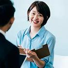 女性社員のモチベーションアップ研修