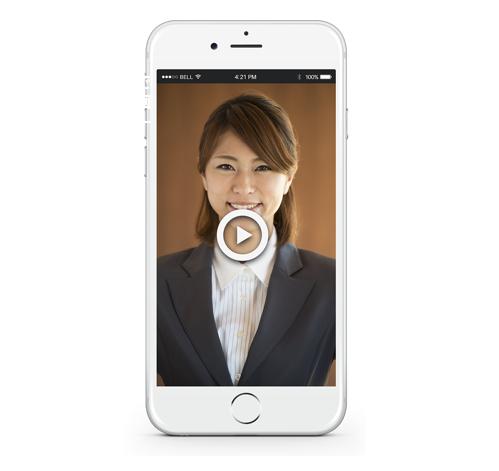動画選考(録画面接)ならビズプラ採用管理の動画エントリー_画像
